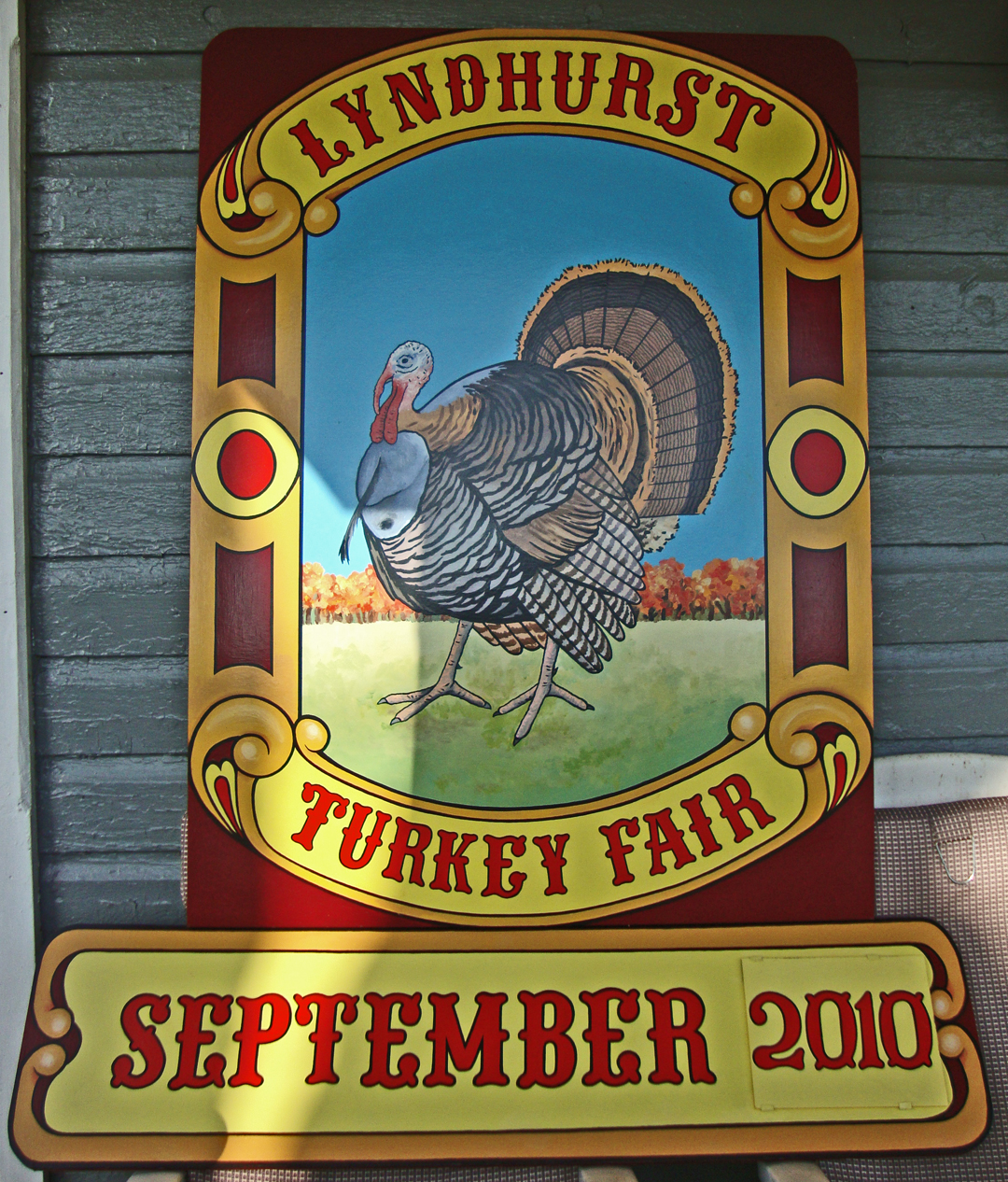 Lyndhurst Turkey Fair Sign