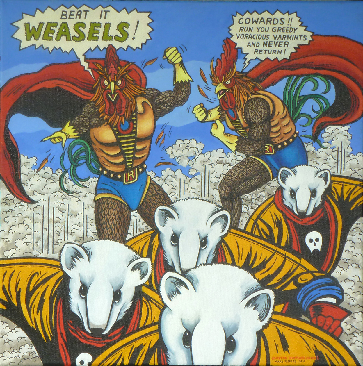 Rooster Brothers Victory 1 (Weasels)