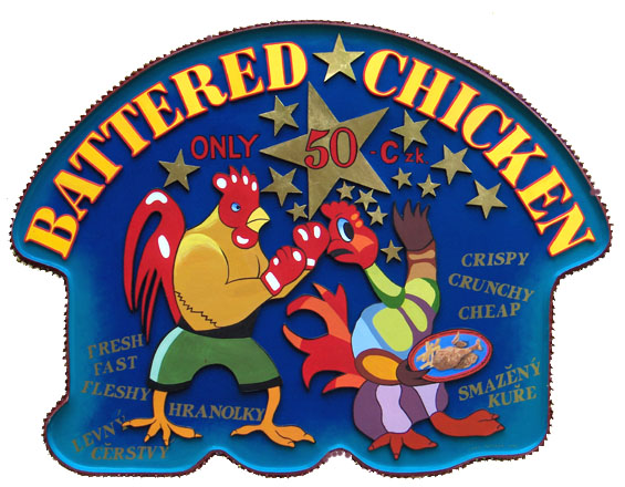Battered Chicken