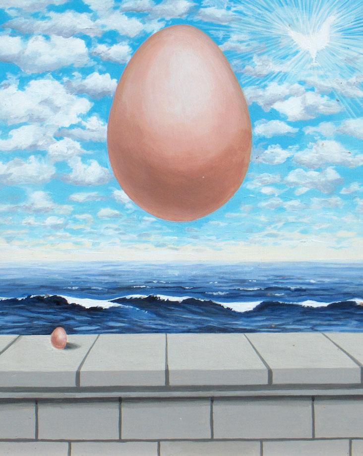 Egg (after Rene Magritte)