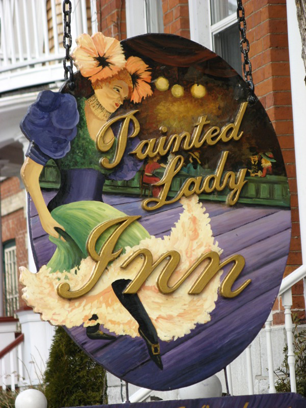 Painted Lady Inn Sign